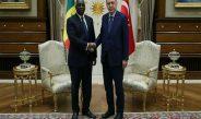 Senegal Cumhurbaşkanı Sall ile görüştü