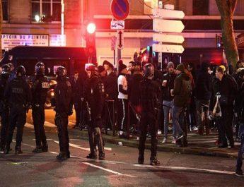 PSG ve Galatasaray taraftarlarının  arasında olaylar çıktı