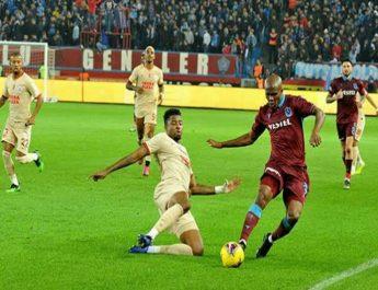Trabzonspor: 1 Galatasaray: 1
