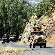 Pençe Harekâtı'nda askeri sevkiyat sürüyor