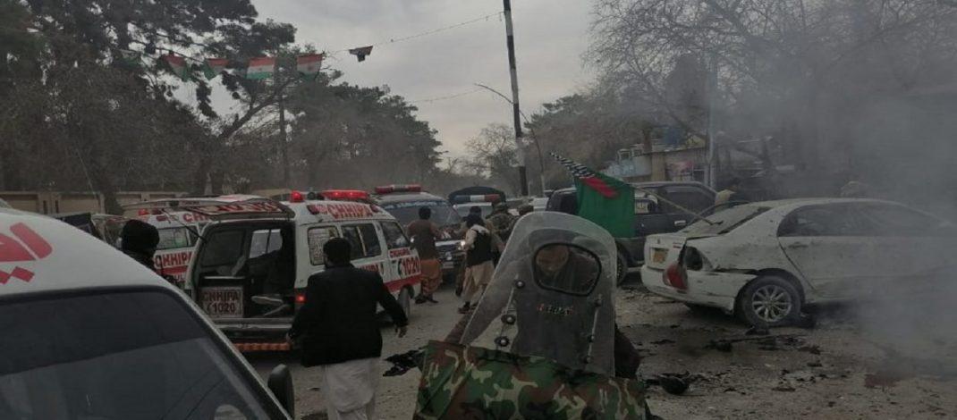 'Basın Birliği' binasında patlama: 5 ölü