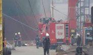 Yük gemisinin kaptan köşkünde yangın çıktı